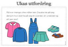frk linn: Søkeresultat for Ukas utfordring Word Problems, Classroom, Maths, Teacher, Education, School, Autism, Danish Language, First Grade