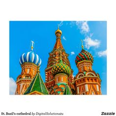 St. Basil's cathedral Postcard