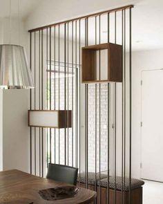 Utilisez des séparateurs de pièces à la place des murs. | 31 astuces pour maximiser l'espace dans un petit logement
