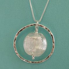 Image of snow queen ring necklace