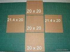 Diy Gift Box Template, Paper Box Template, Cardboard Furniture, Cardboard Crafts, Diy Birthday Gifts For Dad, Emoji Craft, Exploding Gift Box, Carton Diy, Diy Karton