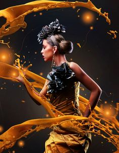 25 Creative Photoshop Sparkling Effects and Photo manipulation works for your inspiration  http... pinned with Pinvolve