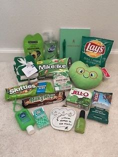 Colorful Care Package Good Luck Get Well Cheer Up School College Sunshine Birthday Presents For Friends, Cute Birthday Gift, Happy Birthday Gifts, Diy Gifts For Friends, Christmas Gifts For Friends, Friend Birthday Gifts, Best Friend Gifts, Cute Boyfriend Gifts, Bf Gifts