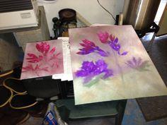 October 2012 - first meeting   spray paint art