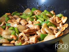 Cashew Chicken! One of my family's favorite recipes! willtherebefoodthere.blogspot.com