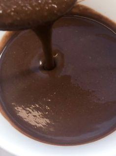 2-Ingredient Vegan Chocolate Sauce Recipe