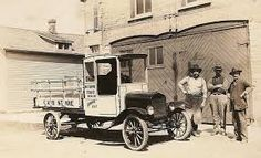 TT Ford stake side delivery truck circa 1920's.