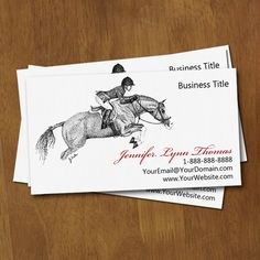 Horse trainer or equine business beautiful animal business card horse trainer or equine business beautiful animal business card pinterest business cards trainers and card templates colourmoves