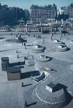 Bunkers på Rådhuspladsen