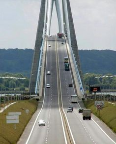 Great bridge in France