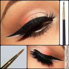 Long winged make up