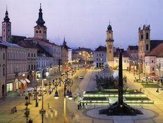 Banská Bystrica v Banskobystrický kraj