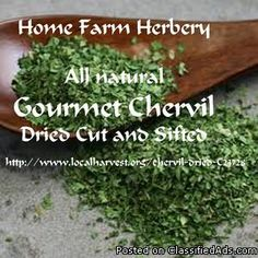 Check this great recipe out now.    http://soulofwit.com/2016/03/26/Cooking-With-Chervil-Try-It-You-Will-Love-It     http://soulofwit.com/2016/03/26/Cooking-With-Chervil-Try-It-You-Will-Love-It