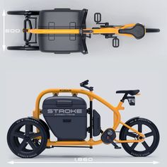 5 Impressive Facts You Really Did Not Understand About Bicycles - Bike riding Velo Tricycle, Trike Bicycle, Three Wheel Bicycle, Velo Cargo, Concept Motorcycles, Cycling Bikes, Cycling Art, Cycling Jerseys, Electric Bicycle
