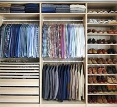 His Side of the closet