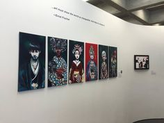 Paintings by High School Artists | Social Matters Exhibit