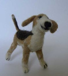 Needle Felting | Needle Felted Dog & Fairy Tale Trolls | LIVING FELT Felting Friends ...