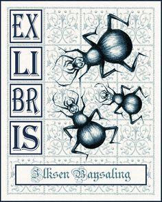 Curiosity Cabinet of XnPurPLe: ExLibris - 3