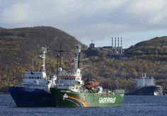 A court in the Netherlands has ordered Russia to pay compensation for seizing the #Greenpeace ship Arctic Sunrise during a protest against an offshore oil platform two years ago, a ruling which Moscow dismissed as lacking legal authority. | Reuters