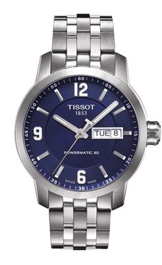 This collection has a watch for everyone, from sporty to classic. The PRC 200 collection is a sports timepiece that is water resistant to 20 bar ( 200 m / 660 ft) but with a more classic look and feel.  The reduced bezel means that the dial appears very large, offering clear reading of the time. This readability is highlighted by the use of Superluminova for the indices and in the tapered steel hands. Shown here with blue dial, stainless steel bracelet and automatic movement.