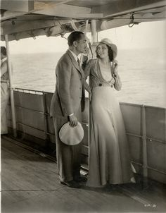 "kay francis | Kay Francis, William Powell, ""One Way Passage,"" WB 1932 