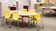 Antenna Workspaces Tables includes a wide range of tables and table desks suitable for every application in the office. The modular design of Antenna table components allows for the creation of nearly limitless configurations | Knoll