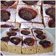 kenyerek és péksütik : Kevert szilvás süti