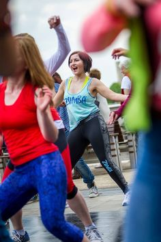 Let's hear it for our spectacular Zumba Instructors who orchestrated a dynamic Zumba flash mob in London - and all of the participants who joined this pop-up Zumba class, turning it into a 100+ person street party!