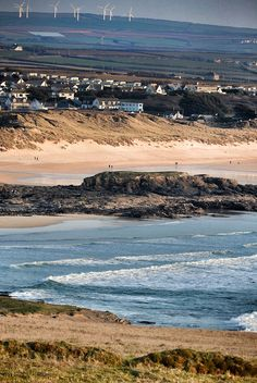 Constantine Bay, Cornwall. Lived here for a while in 1988, beautiful area of Cornwall
