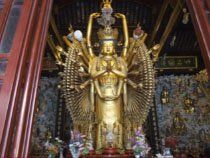 Avalokiteshvra with 1000 arms to help those in need.after being reassembled by Amitabh Om Mani Padme Hum, Guanyin, Deities, Buddha, Statue, Spiritual, Arms, Universe, Image