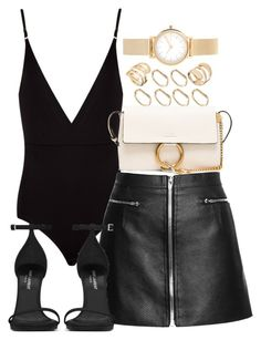 """Untitled #367"" by sineadelhardt ❤ liked on Polyvore featuring Osklen, Yves Saint Laurent, Chloé, ASOS and Skagen"