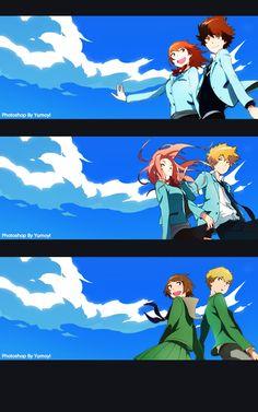 Digimon Tri-TK & Kari better be together!