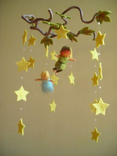 Peter and Wendy Mobile by naturechild (Sold) - So simple and cute
