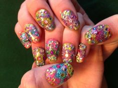 Easter Shimmer and Shine! - easter eggs, Easter nails Art, Easter Nail Design#2014 Easter Eggs Nails#2014 Easter Chick Nails#2014 Easter Bunny nails