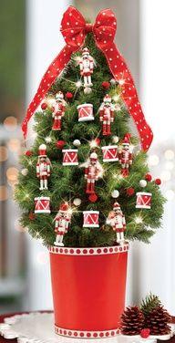 Nutcracker Decorated Tree