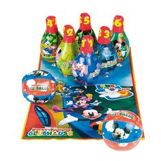 Juego de Bolos Mickey Mouse Club House Cefa Toys Alcampo 20€ ECI 22€