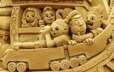 Mindblowing Sand Sculptures from Around the World - Yahoo News