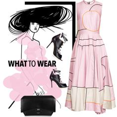 meet me in pink by fl4u on Polyvore featuring Roksanda, Malone Souliers and Givenchy