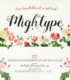 Free Handlettered Script Font by AF Studio. Free for personal and commercial use.