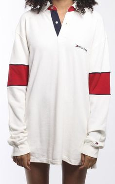 Vintage Tommy Hilfiger Collared Shirt