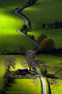 new lands valley, lake district in britain