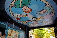 Wall paints, Muurschilderingen, Peintures Murales,Trompe-l'oeil, Graffiti, Murals, Street art.: Antwerp - Belgium suske en wiske
