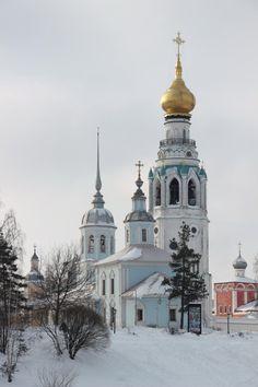 Eglise Saint Alexandre Nevsky - Vologda - Place du Kremlin - Construite vers 1715.