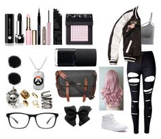 """""""My Overwatch Character"""" by ggjojo on Polyvore featuring Vans, WithChic, Hollister Co., Joseph Marc, Fallon, Dorothy Perkins, NARS Cosmetics, Marc Jacobs, Givenchy and Urban Decay"""