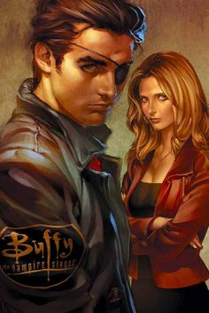 Zander and Buffy by Jo Chen
