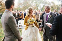 Photography: Todd Pellowe - tpellowe.com  Read More: http://www.stylemepretty.com/2014/03/03/fall-wedding-at-sycamore-farm-bloomington/