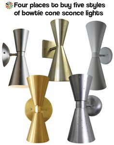 Four places to buy bowtie cone lights !