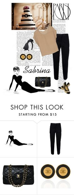"""""""Sabrina"""" by j-yoshiko ❤ liked on Polyvore featuring Carven and Chanel"""