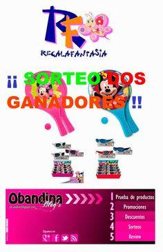 Obandina Blog´s: Sorteo DOS GANADORES Regalafantasia