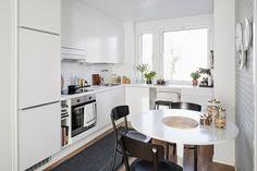 white, kitchen, design, via Bambula